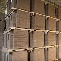 corrugated pads